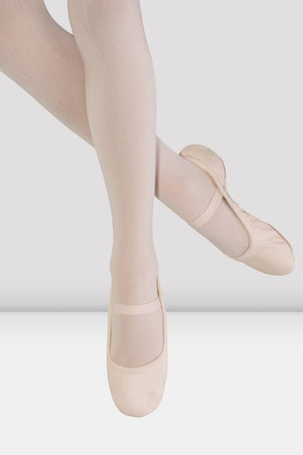 Giselle Leather Ballet Slippers - Pink