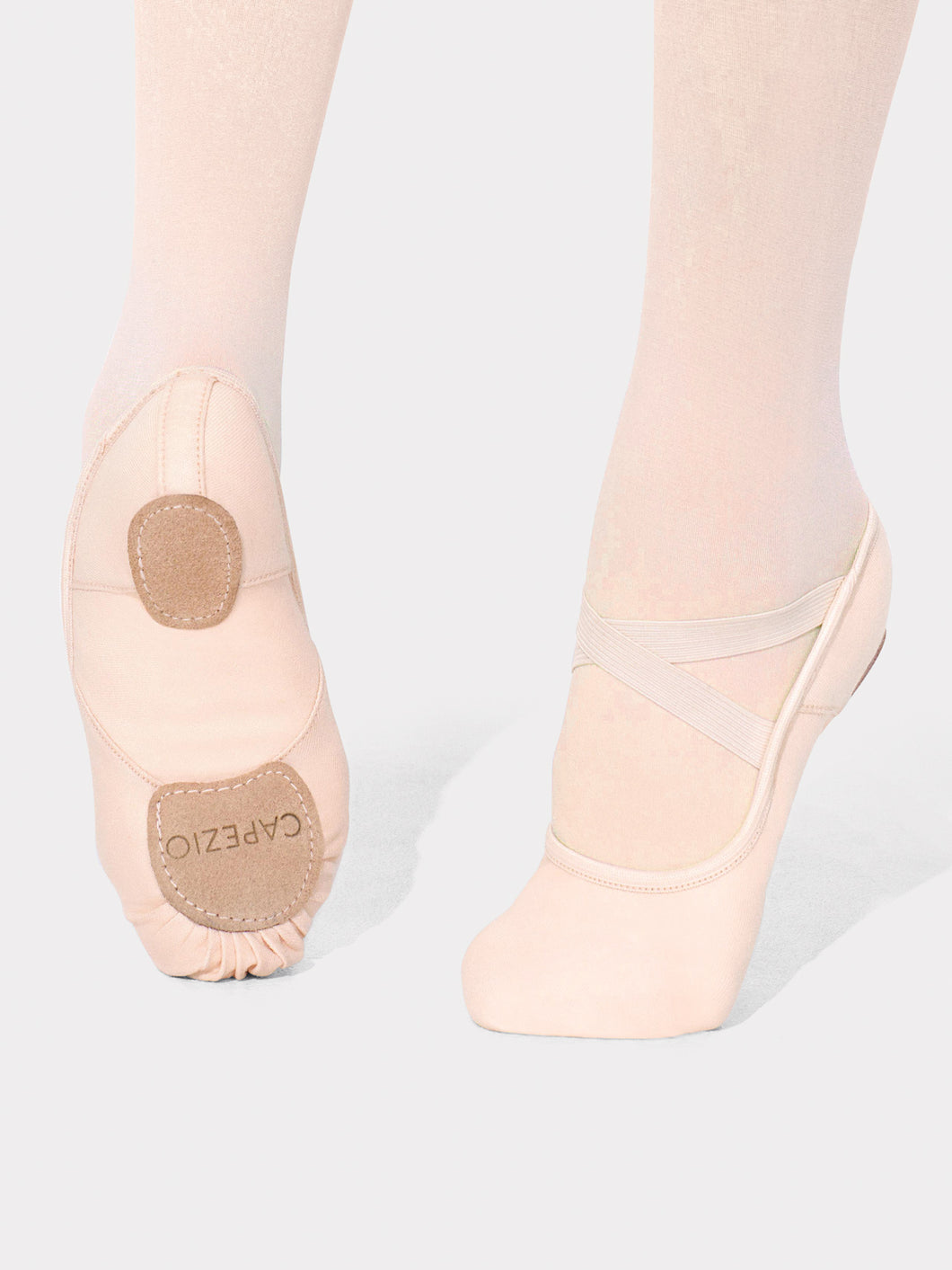Hanami Canvas Ballet Slippers - Light Pink