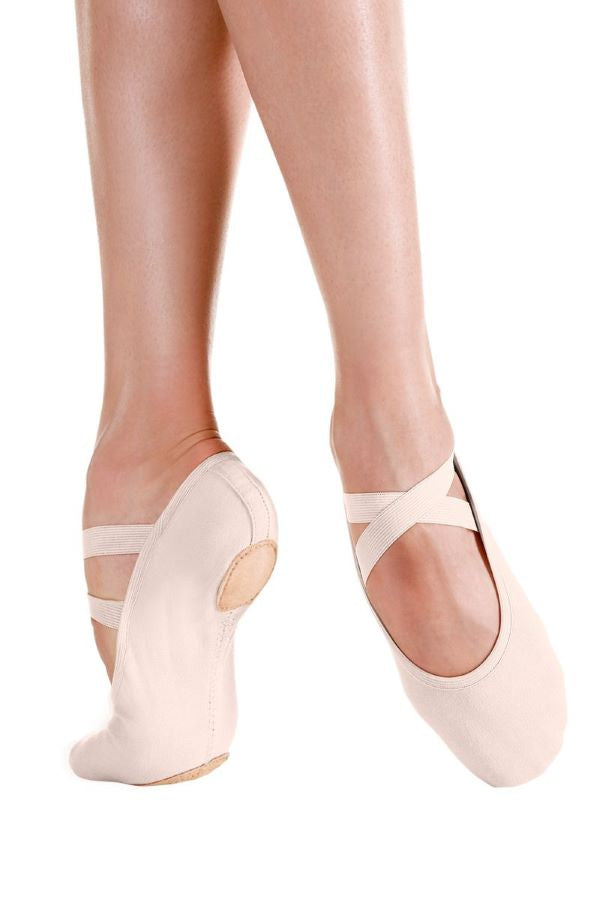 Pro Stretch Canvas Ballet Slippers - Light Pink