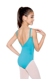 Princess Seam Camisole Leotard - Child