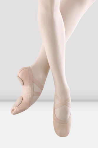 Synchrony Stretch Canvas Ballet Slippers - Pink