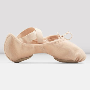 Zenith Stretch Canvas Ballet Slippers - Pink