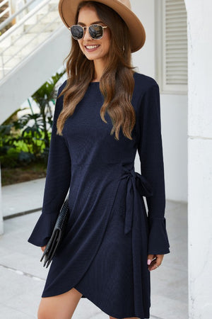 Long sleeve winter dress