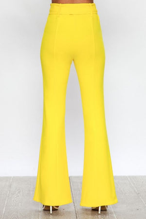 Yellow flare bottoms
