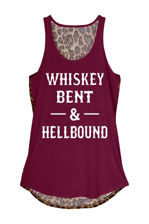 """Whiskey Bent, Hell Bound"" Tank"