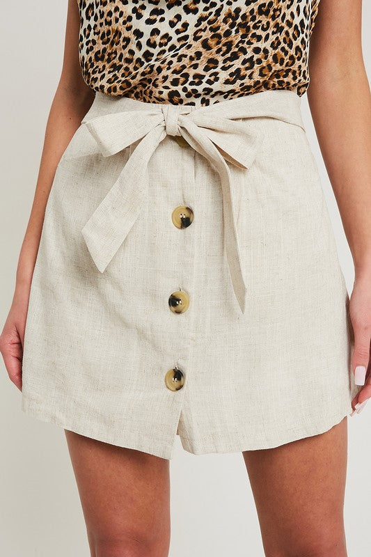 It Just Comes Naturally Skort