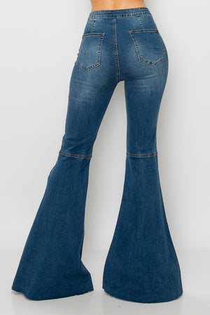 Reno Flared High Rise Jeans