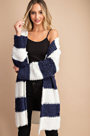 Oversized Navy cardigan
