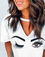 Brown eyed girl tee