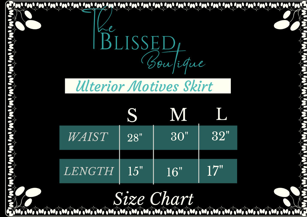 Ulterior Motives Skirt