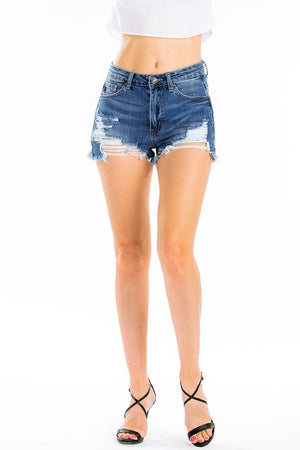 Kancan Distressed Shorts - Odessa