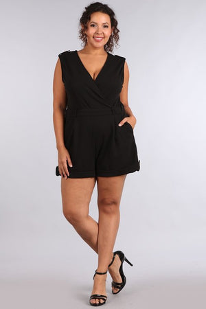 Moves & Motives Romper Curvy