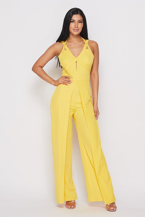 Yellow jumsuit