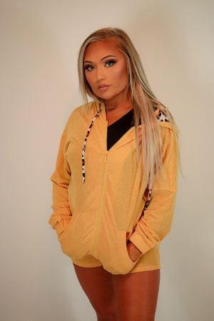 Women's yellow lounge set