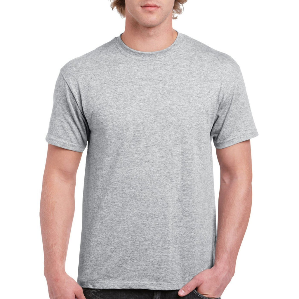 Ash Grey Round Neck T-shirt