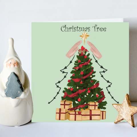 BSL Christmas Tree Card