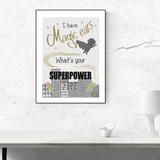 What's your Superpower Print - Love Harry X