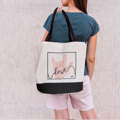 ASL Love Tote Bag - Love Harry X