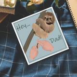 BSL Father's Day Card - Love Harry X