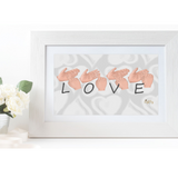 BSL Love Print - Love Harry X