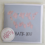 BSL Thank you Card - Love Harry X