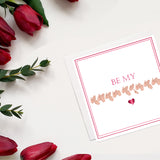 Be my Valentine Card - Love Harry X