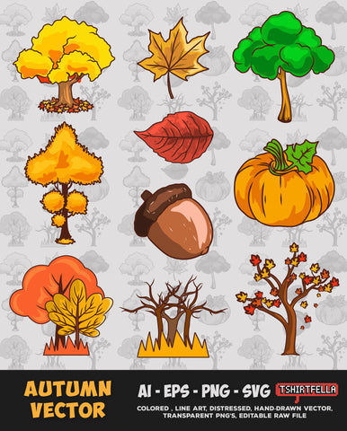 Autumn Vector Bundle FOR SALE