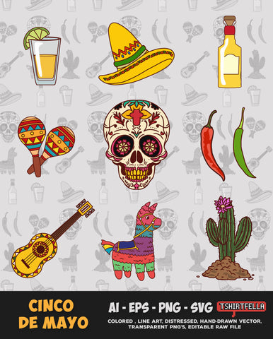 Cinco de Mayo Vector Bundle FOR SALE