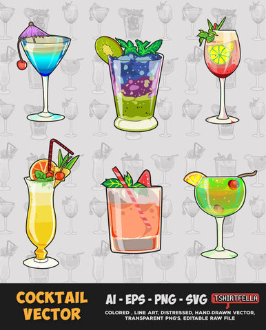 Cocktail Vector Bundle FOR SALE