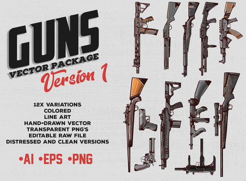Guns Version 1 FOR SALE