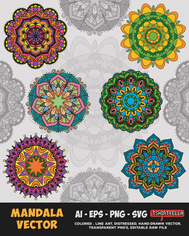 Mandala Vector Bundle FOR SALE