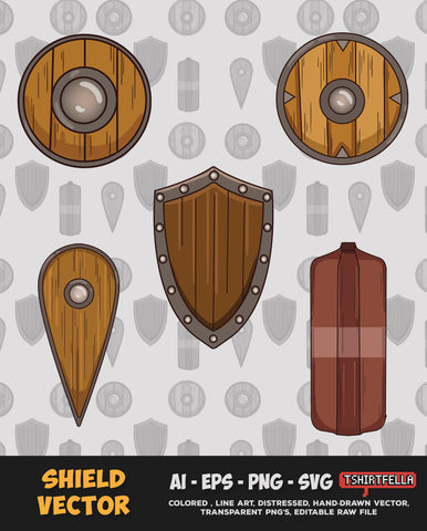 Shield Vector Bundle FOR SALE
