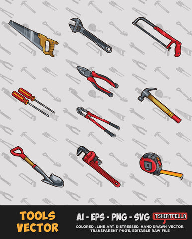 Tools Vector Bundle FOR SALE