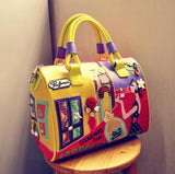 Women Candy Color bag