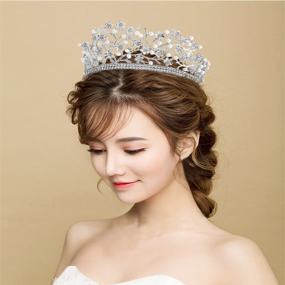 Vintage Flower Hair tiara