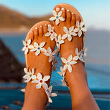 Woman Bohos Beach Shoes