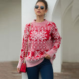 2020 Autumn Winter Christmas Sweater Women