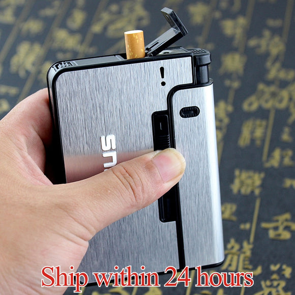 Automatic Cigarette Metal Case