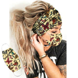 Women Fashion Button Headband
