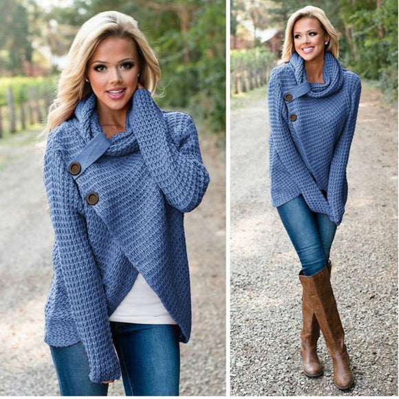 Knitted Long Sleeve Pullover