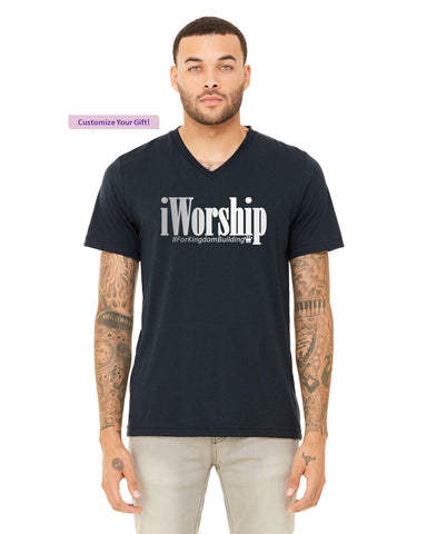iGift - Men's V Neck Short Sleeve