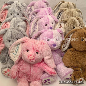 Easter Plush Bunnies