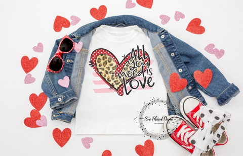 All you need is Love Youth Shirt