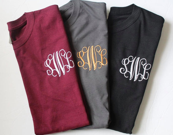 Fall Monogram Shirt Bundle