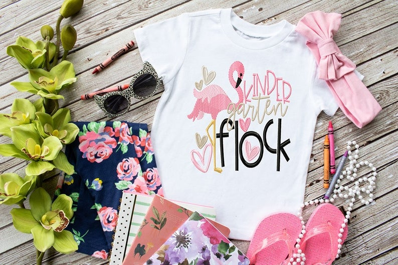 Back To School Flock Shirt