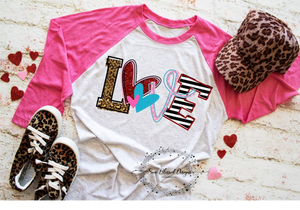 LOVE Mommy Shirt