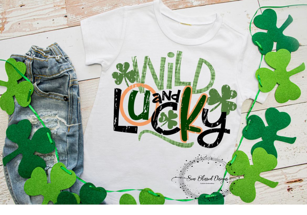 Wild and Lucky Tee