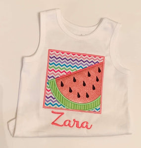 Chevron Watermelon Box Shirt
