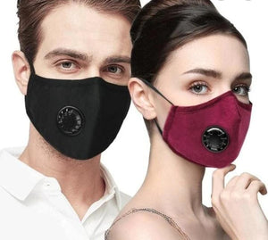 Reusable Filter Mask (Plus1Free Fliter) - Red