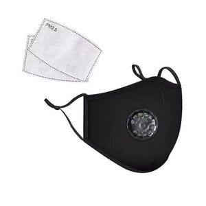 Reusable Filter Mask (Plus1Free Fliter) - Black